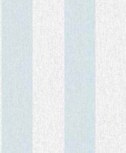 Super Fresco Easy Calico Stripe Wallpaper - Duck by New A-Brend