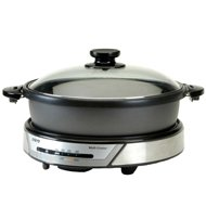 Sanyo - Sanyo 3 In 1 Electric Multi Cooker