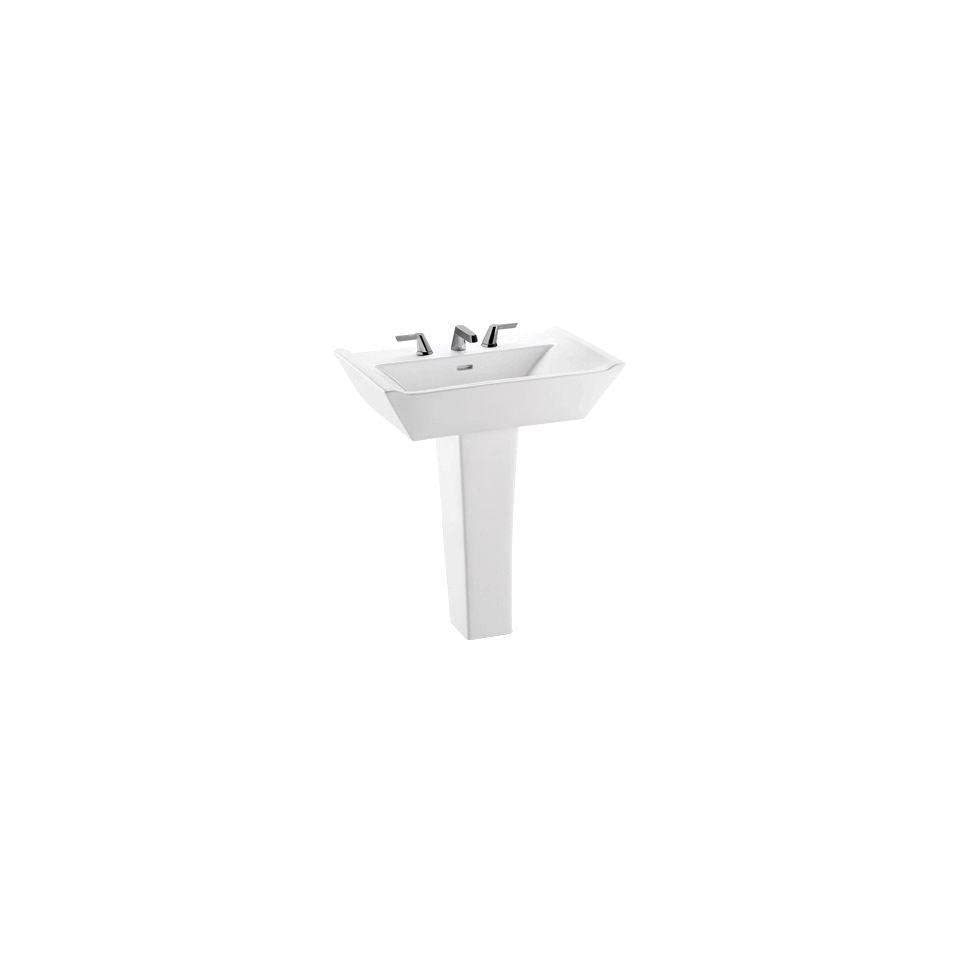 Toto LPT690.4G 01 Ethos Design NII Pedestal Lavatory with SanaGloss, Cotton