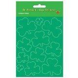 Shamrock Stickers Party Accessory (1 count) (4 Shs Pkg)