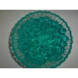 Teal Water Gel Beads For Floral Arrangements (Small Jelly Beads compare prices)