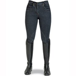 Derby House Melanie Denim Breech Black Denim 28 inch
