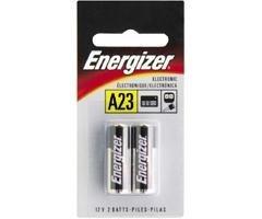 A23 Car Alarm Battery - 12V, 2-Pack