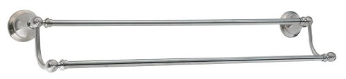 Pfister BTBE5KK Catalina 24-Inch Double Towel Bar, Brushed Nickel