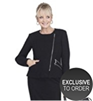 Twiggy for M&S Collection Biker Jacket with Wool