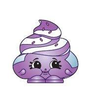Shopkins Season 2 #2-038 Purple Mary Meringue (Ultra Rare) - 1