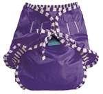 Kushies Swim Diaper - Medium - Purple