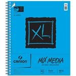 "Canson 100510930 XL Mix Media Pad, 14"" x 17"" Size, 60 Sheets, Side Wire Bound, 0.7"" Height, 14"" Width, 18"" Length (Pack of 60)"