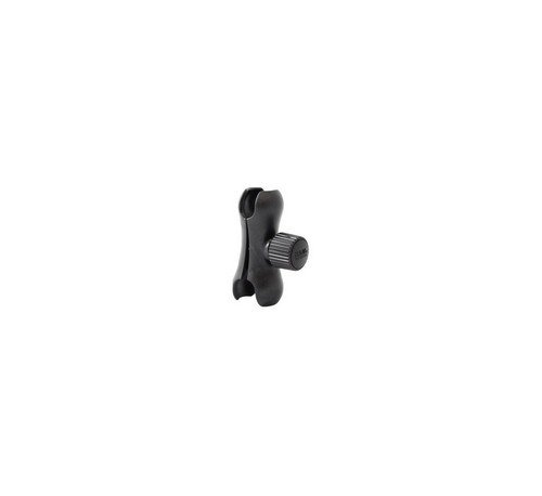 Ram Mount Light Series Composite Double Socket Arm For 1-Inch Ball Bases (Black)