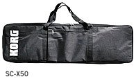 Korg SC-X50 Soft Case for X50 Synthesizer