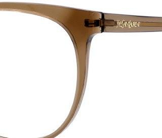 Yves Saint Laurent Yves Saint Laurent 6372 Eyeglasses-0BKC Transparent Brown-54mm