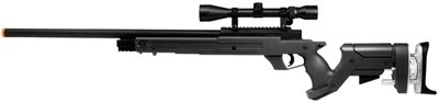 TSD Tactical SD97 Airsoft Sniper Rifle, Black airsoft gun