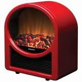 Dimplex Microfire (Golden Eye) Red