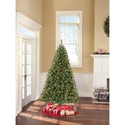 Holiday Time Pre-lit 6.5' Windham Pine Artificial Christmas Tree, Clear Lights (12 Customer Reviews) Write a Review |