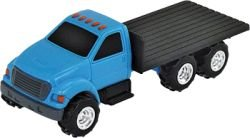 "ERTL Toys Truck with Flatbed, 4.3"" - 1"