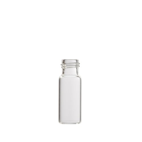 Greenwood Products 01-02Cs100 Clear Glass 2Ml Flat Bottom Vial, With Screw Threads (Pack Of 100)