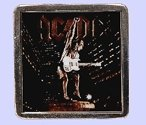 AC/DC STIFF UPPER LIP COVER Belt Buckle