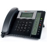 Fortinet FortiFone-350i Business VOIP SIP Phone LAN 10/100 PC 10/100 PoE with Power Adapter up to 6 lines FON-350i
