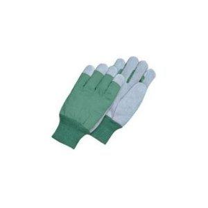 Magid Glove TK8CT Leather Palm Glove with Knit Wrist Clute Pattern-(PURPLE)