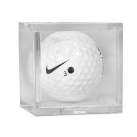 1 (One) Golf Ball Cube - Acrylic Display Case by BallQube