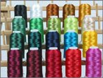 20 Cone Set Polyester Embroidery Thread - Holiday Colors