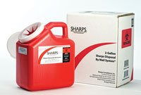 12000-012 PT# 12000-012- Container Sharps Mail Back System 2gal Ea by, Sharps Compliance, Inc