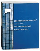 2005 Connecticut Building Code Soft-cover - International Code Council - IC-3000S05CT - ISBN:B0012S1OC2