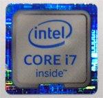 インテル intel Core i7 第6世代 エンブレムシール