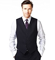 Ultimate Performance Wool Blend 5 Button Waistcoat