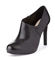 Autograph Leather Wide Fit Platform Zip Shoe Boots with Insolia®