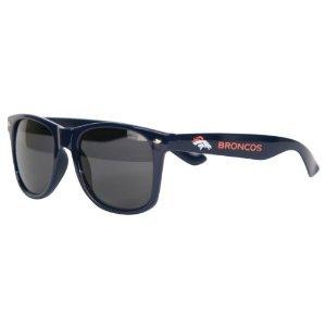Denver Broncos Retro Wayfarer NFL Sunglasses (Nfl Sun Shade Denver compare prices)