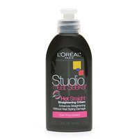 L'Oreal Studio Line Heat Seeker, Hot Straight/Straightening Cream, Curl/Frizz Control 5 fl oz by L'Oreal Paris
