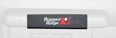 Rugged Ridge 13305.54 Black Neoprene Grab and Door Handle Kit - 5 Piece