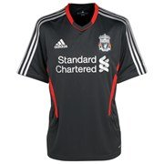 Liverpool Fc 2011-2012 Short Sleeve Training Shirt 14 Years from adidas