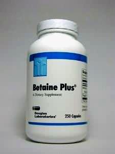 Douglas Labs - Betaine Plus 650 Mg 250 Caps