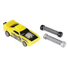 Shock Racers Auto Vehicle - Yellow - 1