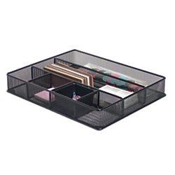 office-depotr-brand-metro-mesh-large-drawer-organizer-2-7-16inh-x-15-1-8inw-x-11-9-10ind-black