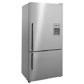 Fisher Paykel E522BRXFDU 17.6 cu ft Refrigerator - Stainless Flat Door Ice & Water Right Hinge