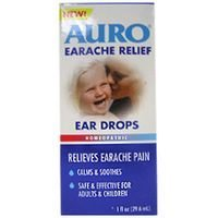 Auro Earache relief ear drops relieves earche pain - 1 Oz