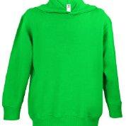 Rabbit Skins Fleece Blank Toddler Pullover Fleece Hoodie [Size 2T] Kelly Green Long Sleeve Sweatshirt