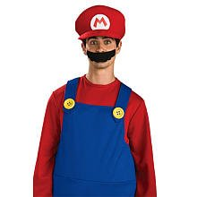 Super Mario Deluxe Hat Costume Accessory