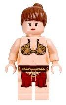 Lego Star Wars Slave Princess Leia Minifigure (2003 version)