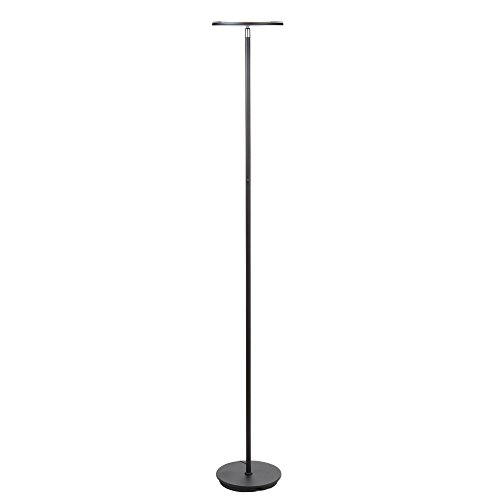 Brightech sky led torchiere floor lamp energy saving dimmable brightech sky led torchiere floor lamp energy saving dimmable adjustable lamp reading lamp modern tall standing aloadofball Image collections