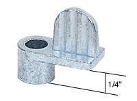 """C.R. Laurence L5550 Crl 1/4"""" Die Cast Window Screen Clips front-921256"""
