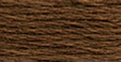 DMC Pearl Cotton Skeins Size 5 27.3 Yards Dark Coffee Brown 115 5-801; 12 Items/Order