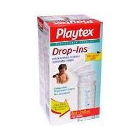Playtex Drop-Ins Pre-Sterilized Soft Bottle Liners, 8-10 oz. 100 ea