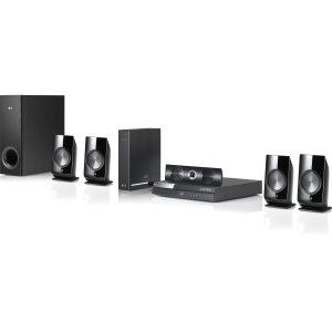 LG BH6820SW 1000W 3D Blu-ray Home Theater System with Smart TV and Wireless Rear Speakers (2012 Model)
