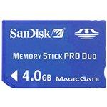 Sandisk SDMSPD-004G-B35 - ^SANDISK MEMORY STICK PRO DUO 4GB