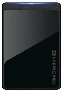Buffalo MiniStation 500GB USB 3.0 Portable Hard Disk Drive - Black from BUFFALO
