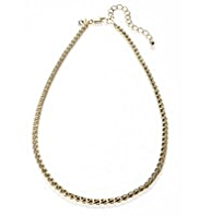 M&S Collection Gold Plated Chain Necklace
